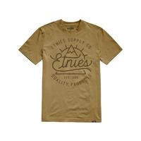 Tee shirt ETNIES Epic Peak Mustard