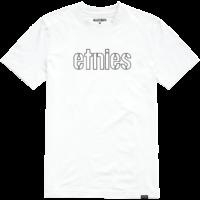 Tee shirt ETNIES Mod Stencil white