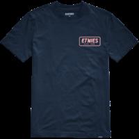 Tee shirt ETNIES Quality Control navy