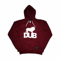 Sweat capuche DUB OG burgundy