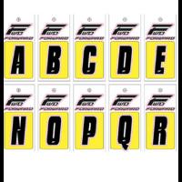 Lettre de plaque à numéros FORWARD (L'unité) black