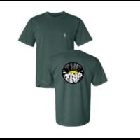 Tee shirt THE TRIP Mt Trip bluespruce