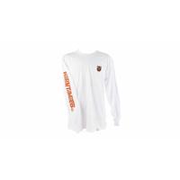Tee shirt S&M BTM long sleeve  white