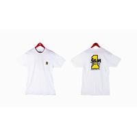 Tee shirt S&M Racing white