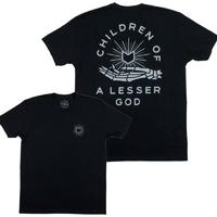 Tee shirt MUTINY Lesser God black