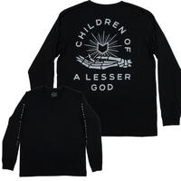 Tee shirt MUTINY Lesser God manche longue black