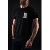 Tee shirt UNICORN Maneki black