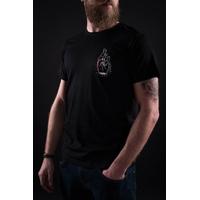 Tee shirt UNICORN Cross Finger black
