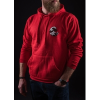 Sweat capuche UNICORN Wave red