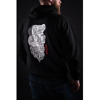 Sweat capuche UNICORN Skull black
