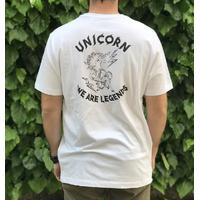 Tee shirt UNICORN Classic white