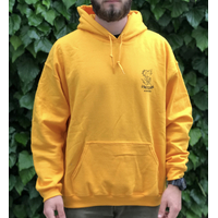 Sweat capuche UNICORN Classic yellow
