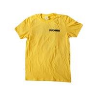 Tee shirt DOOMED Lad Daisy Gold