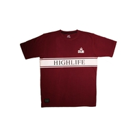 Tee shirt DUB BMX Highlife red