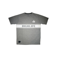 Tee shirt DUB BMX Highlife grey