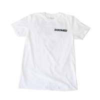 Tee shirt DOOMED Lad white