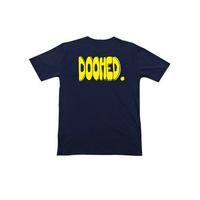 Tee shirt DOOMED Bubs navy blue