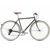 Vélo 6KU Odessa Mens 8 speed Delano black