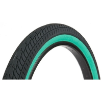 Pneu FIT BIKE Co FAF 20X2.40 black/Teal wall
