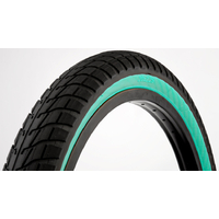 Pneu FIT BIKE Co FAF 20X2.25 black/Teal wall