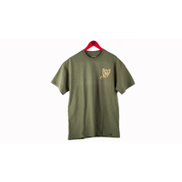 Tee shirt S&M Shovel Shield military green