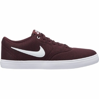 Shoes NIKE SB Check Solar CNVS premium burgundy/white