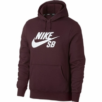 Sweat capuche NIKE SB Logo burgundy