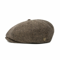 Casquette BRIXTON Brood snap cap brown khaki