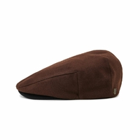 Casquette BRIXTON Hooligan snap cap brown black