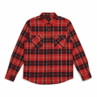 Chemise BRIXTON Bowery flanel red/navy