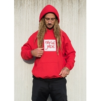 Sweat capuche MARIE Patch red