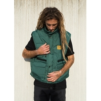 Veste MARIE JADE Bodywarmer patch green/orange