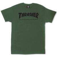 Tee shirt TRASHER Skateboard mag army