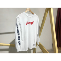 Tee shirt HUF Budweiser Bow LS white