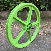 "Roue avant SKYWAY Tuff II 20"" green"