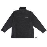 Sweat DOOMED Fleeced half zip black
