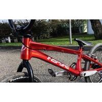 BMX INSPYRE Custom trans red pro XL