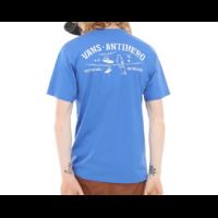 Tee shirt VANS X Antihero On the wire royal blue