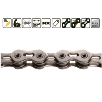 "Chaine KMC K1 SL 1/2"" X 3/32"" silver"