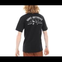 Tee shirt VANS X Antihero On the wire black