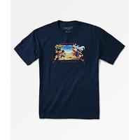 Tee shirt PRIMITIVE DBZ Battle navy