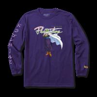 Tee shirt PRIMITIVE DBZ Nuevo Piccolo LS purple