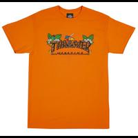 Tee shirt TRASHER Tiki orange