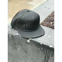 Tee shirt TRASHER Rope snapback black