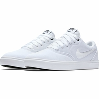 Shoes NIKE SB Check Solarsoft canvas white