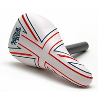 Selle TOTALBMX Combo Brit Stitched white/red