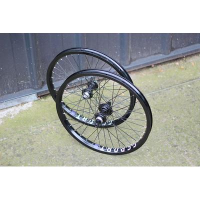 Paire de roues custom PROFILE X G-SPORT Mini SS Birdcage black