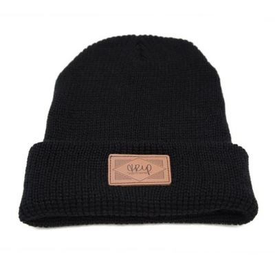 Bonnet THE TRIP Leather Patch