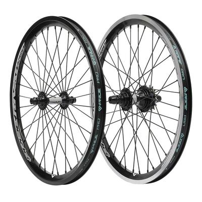 """Paire de roues PRIDE Rival pro 20"""" X 1.60"""