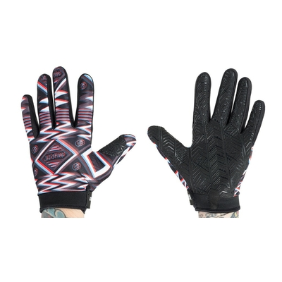 Gants SHADOW Conspire UHF black/red/white